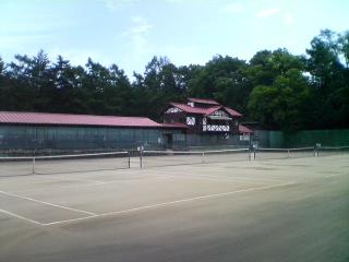 軽井沢会テニスコート