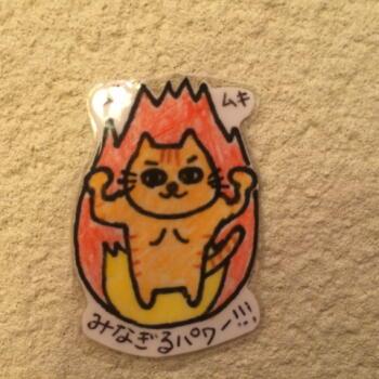 猫ちゃんパワーアップ!