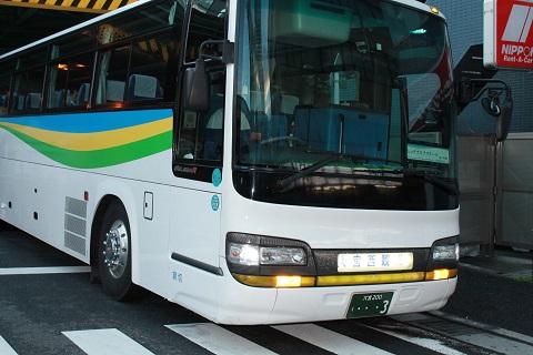 大型バス!